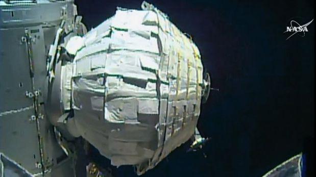 La NASA desplegó con éxito su módulo espacial inflable