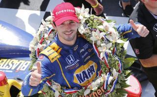 Alexander Rossi ganó las 500 Millas de Indianápolis