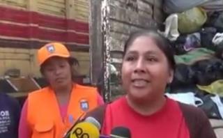 Chosica: recuperó dinero que su sobrina botó a la basura