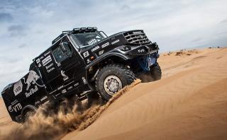 Nueva arma de Red Bull y Kamaz para el Dakar [FOTOS]
