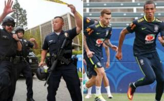 Brasil modificó su lugar de entrenamiento luego de un tiroteo