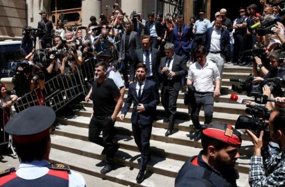"""Lionel Messi ante la justicia: """"Yo no tenía idea de nada"""""""