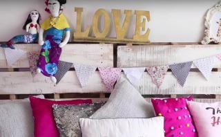Aprende a construir una original cama con palets [VIDEO]