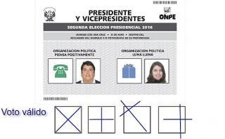 Segunda vuelta: la ONPE brindó recomendaciones sobre cómo votar