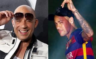 Neymar estará en película con Vin Diesel y Samuel L. Jackson