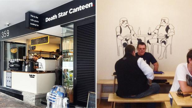 Disfruta de un delicioso café en la Estrella de la Muerte