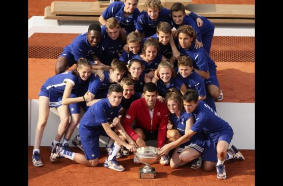 Novak Djokovic celebró así su esperado Roland Garros [VIDEO]