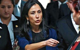 "Nadine Heredia: ""Sigamos con tendencia democrática"""