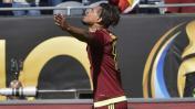 Venezuela abrió marcador ante Jamaica con este gol de Martínez