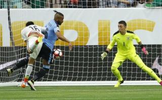 México se puso adelante contra Uruguay con autogol de Pereira