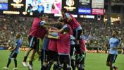 Diego Godín ilusionó a Uruguay con este gol de cabeza [VIDEO]