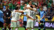 México ganó 3-1 a Uruguay por grupo C de la Copa América 2016