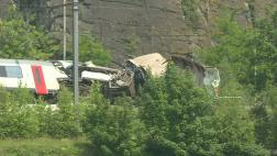 Tres muertos en choque de trenes en Bélgica [VIDEO]
