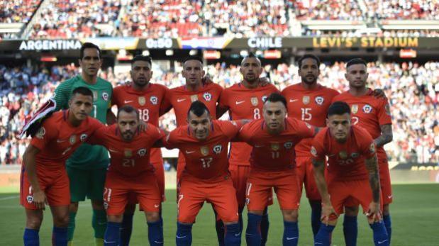 Selección chilena tomó con humor incidente de su himno nacional