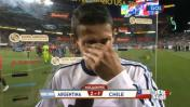 Ángel di María y el conmovedor llanto tras el Argentina-Chile