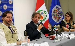 Misión de OEA pide esperar con serenidad resultados de elección