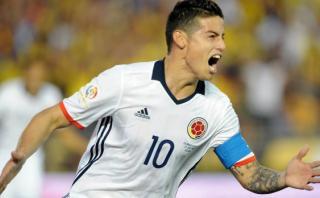James Rodríguez anotó así su segundo gol en la Copa América