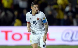 James Rodríguez podría ser operado por lesión en el hombro