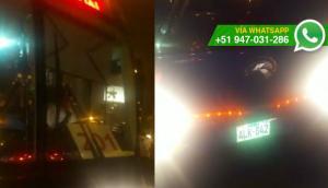 Corredor azul: conductor se niega abrir las puertas en paradero