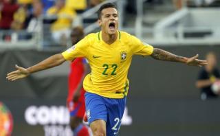 Coutinho anotó dos de los mejores goles de la Copa América 2016