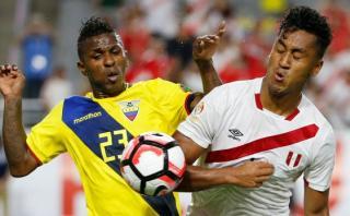 Perú igualó 2-2 ante Ecuador en segunda fecha de Copa América