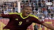 Salomón Rondón marcó el 1-0 ante Uruguay por Copa América 2016