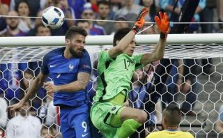Olivier Giroud marcó el primer gol de la Eurocopa 2016 [VIDEO]
