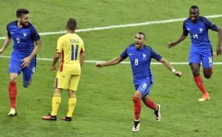 Payet anotó golazo del triunfo de Francia y lloró [VIDEO]