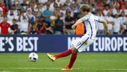 Euro 2016: golazo de tiro libre para la selección de Inglaterra