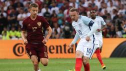 Eurocopa: Inglaterra se dejó empatar 1-1 por Rusia a los 90'