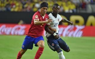 Colombia cayó 3-2 ante Costa Rica y es segundo en Copa América