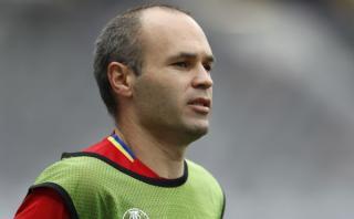 Iniesta piensa que fracaso en Mundial crece motivación española
