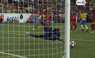 Perú vs. Brasil: Pedro Gallese y una espectacular tapada