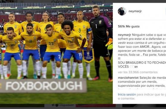 Neymar tuvo durísimas palabras tras eliminación de Brasil