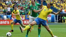 Suecia empató 1-1 contra Irlanda por la Eurocopa 2016 [VIDEO]