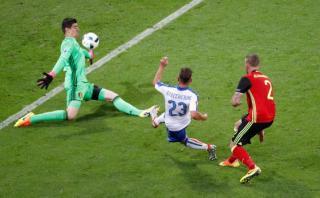 Italia vs. Bélgica: Giaccherini marcó el 1-0 para la 'Azzurra'
