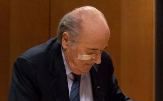 """Blatter y una grave denuncia: """"Fui testigo de bolas calientes"""""""