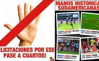 Hinchas uruguayos celebraron victoria de Perú ante Brasil