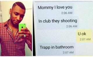 """""""Mami, voy a morir"""": El último mensaje de una de las víctimas"""