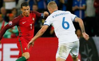 Portugal empató 1-1 ante Islandia en Grupo F por Eurocopa 2016
