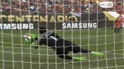 Claudio Bravo y el grave error que cometió en gol de Panamá