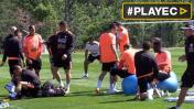 Selección peruana se prepara así para enfrentar a Colombia