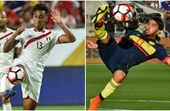 Perú vs. Colombia: comparativo puesto por puesto de jugadores