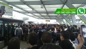Metropolitano: confusión por cambio de filas en Naranjal