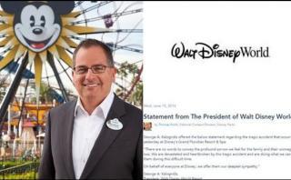 Critican a Disney por comunicado sobre bebé atacado por caimán