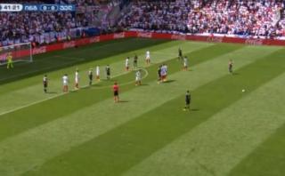 Gareth Bale anotó gol de tiro libre: ¿Se lo 'comió' Joe Hart?