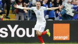 Inglaterra venció 2-1 a Gales con gol de Vardy en Eurocopa 2016