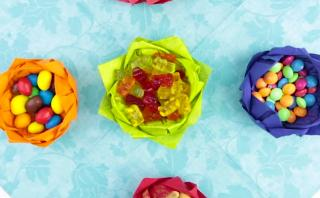 DIY: Haz un original recipiente de flor con una servilleta