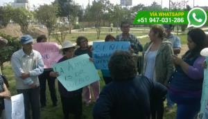 Independencia: vecinos se oponen a construcción en alameda