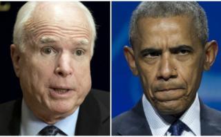 """McCain: Obama es """"responsable directo"""" de masacre en Orlando"""